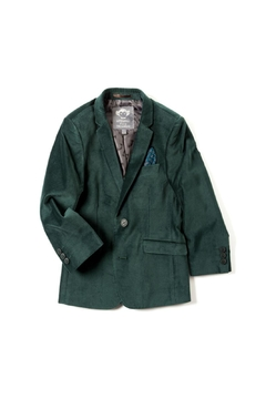 Shoptiques Product: Forest Velvet Blazer