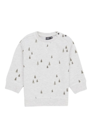 Babyface Forest Watercolor Pullover - Front cropped