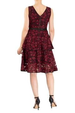 Forest Lily Tiered Lace Dress - Alternate List Image
