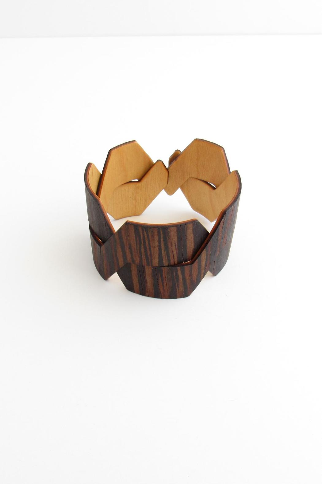 Forestique Wood Cuff - Front Full Image
