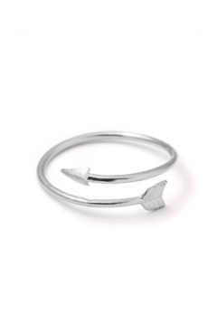 Anarchy Street Forever Arrow Ring - Alternate List Image