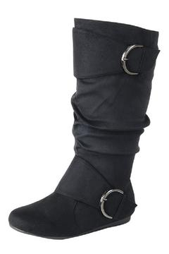 Shoptiques Product: Black Buckle Boot