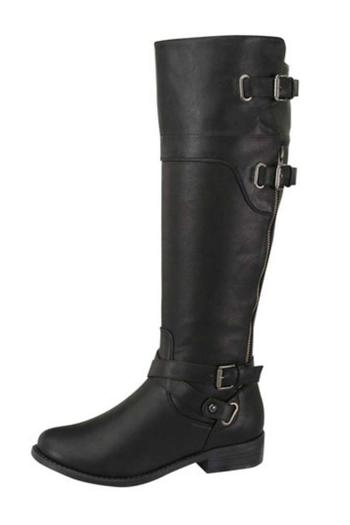 Forever Buckled Riding Boot - Main Image