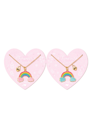 Girl Nation  Forever Friends Rainbow Necklaces - Product Mini Image