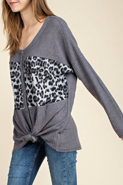 Imagine That Forever Grey Top - Side cropped