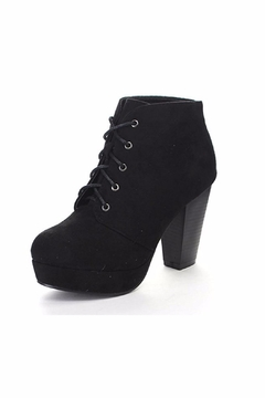 Shoptiques Product: Lace-Up Ankle Booties