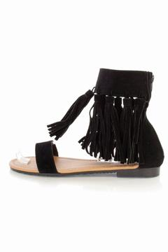 Forever Fringe Suede Sandals - Product List Image