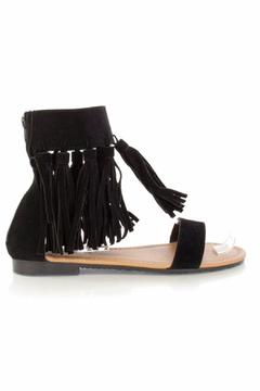 Forever Fringe Suede Sandals - Alternate List Image