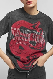 Anine Bing Forever Tee - Product Mini Image
