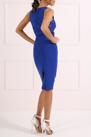 Forever Unique Royal Blue Sheath Dress - Front full body