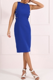 Forever Unique Royal Blue Sheath Dress - Product Mini Image