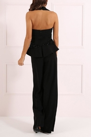 Forever Unique Tuxedo Style Jumpsuit - Front full body