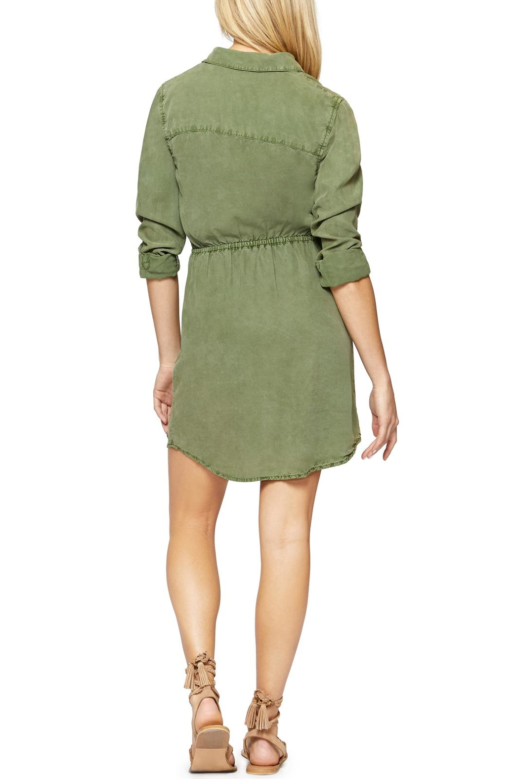 Sanctuary Forget Shirt Dress - Front Full Image