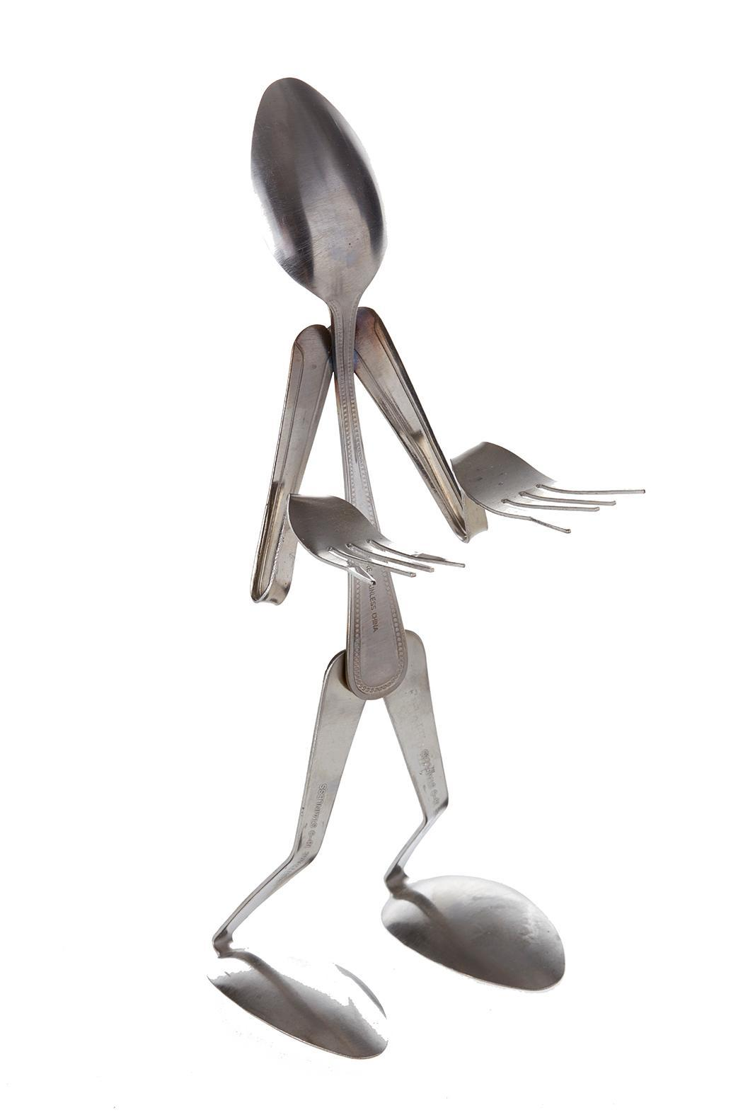 Forked Up Art Fork & Spoon People - Front Cropped Image