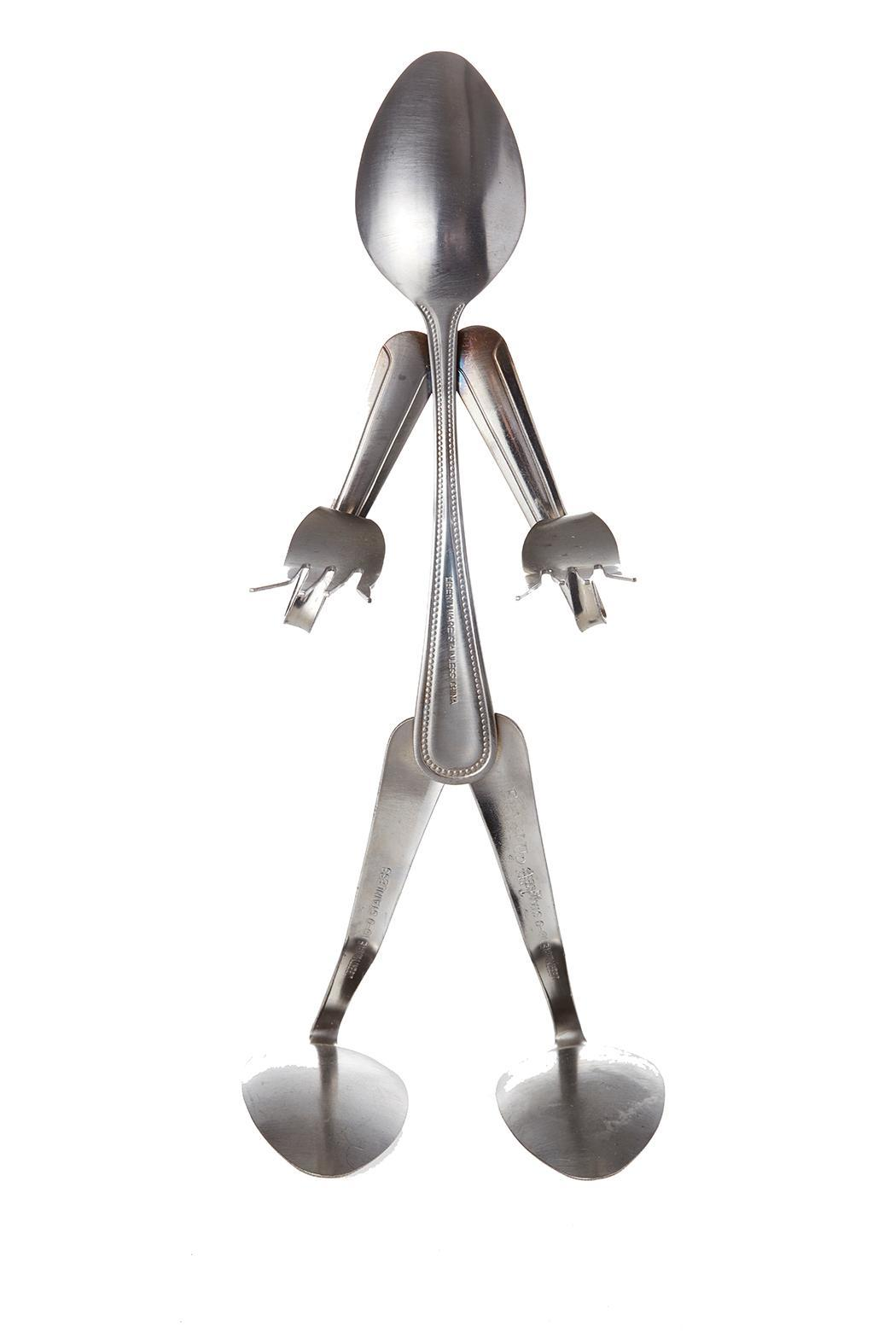 Forked Up Art Fork & Spoon People - Front Full Image