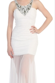 Cindy Collection Form-Fitting Formal Gown - Product Mini Image