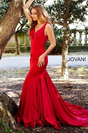 Jovani Form Fitting Gown - Side cropped