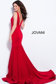 Jovani Form Fitting Gown - Front full body