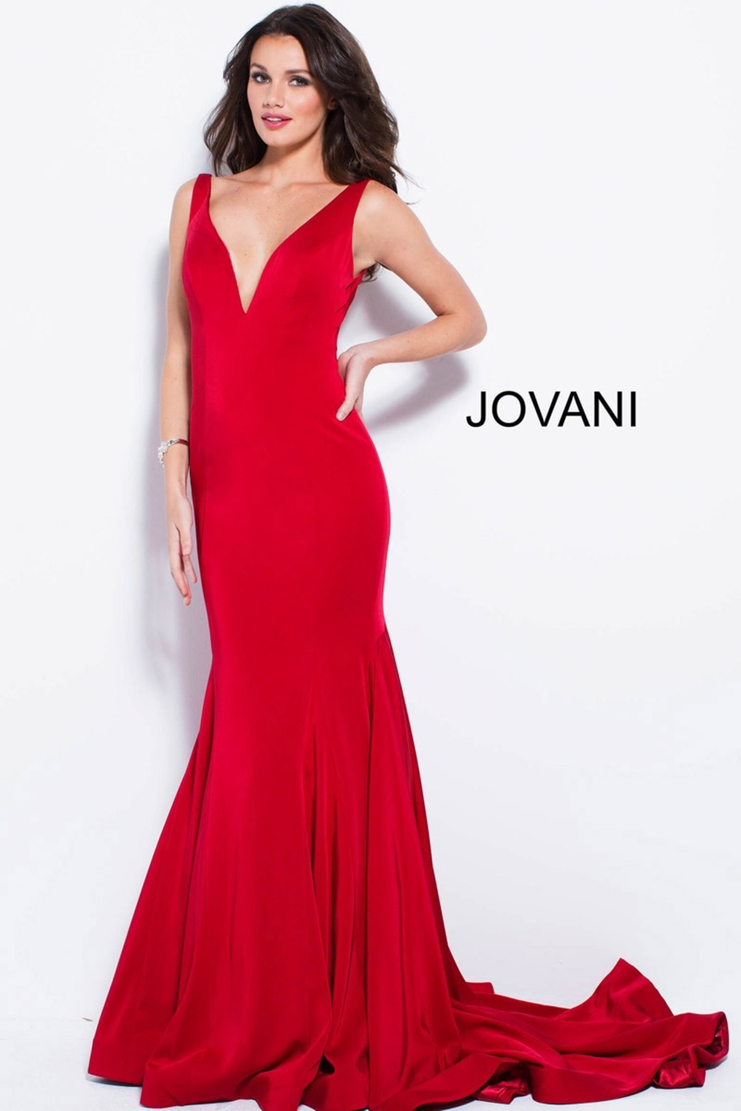 Jovani Form Fitting Gown - Main Image