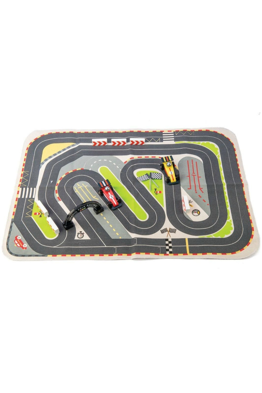 Tender Leaf Toys Formula One Playmat - Front Full Image