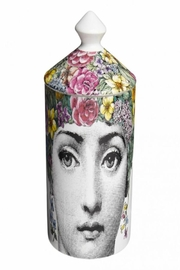 Fornasetti Flora Scented Candle - Front cropped