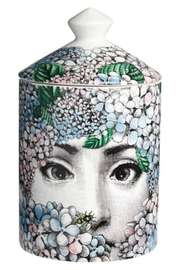 Fornasetti Ortensia Scented Candle - Front cropped