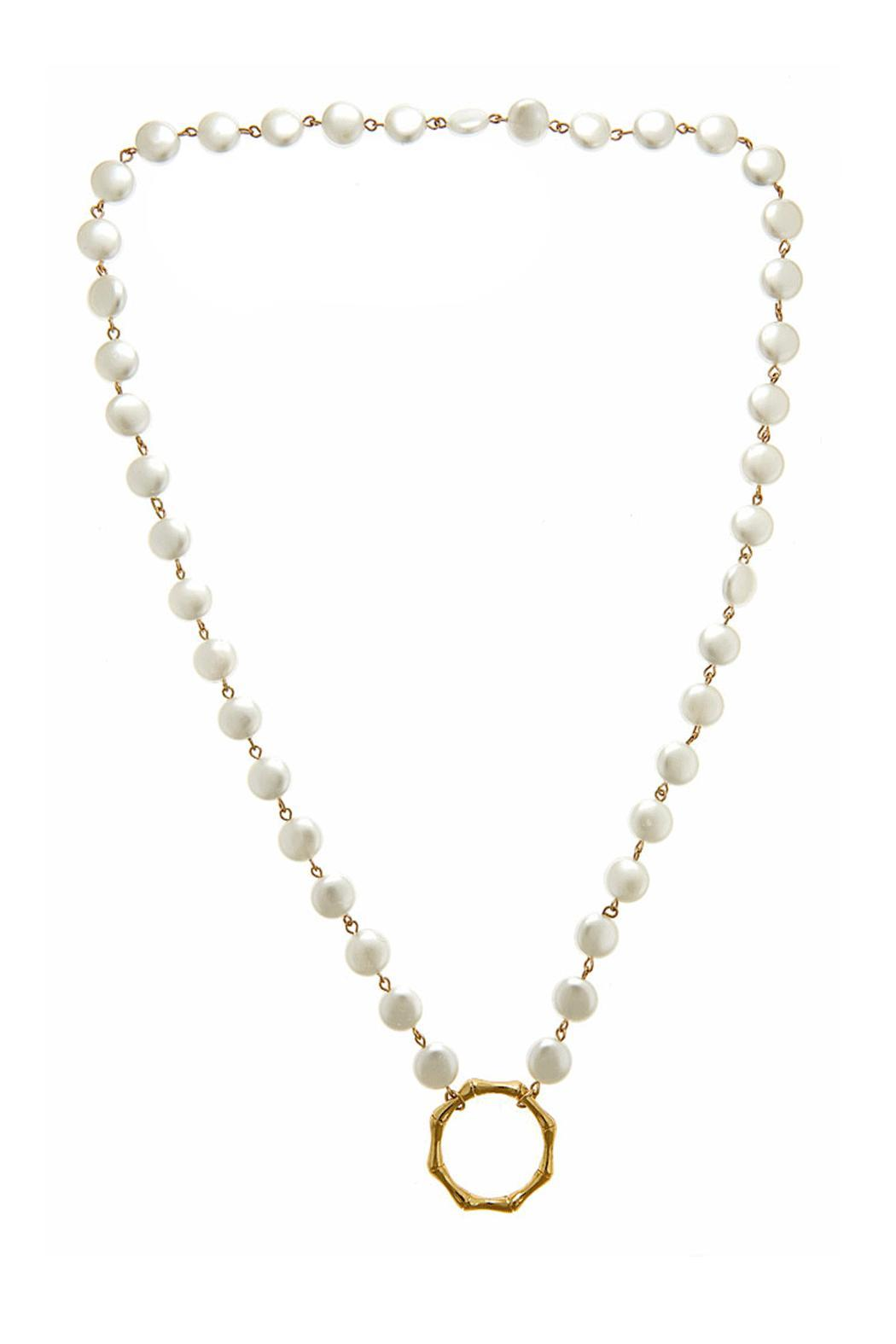 Fornash Blanch Pearl Necklace - Main Image