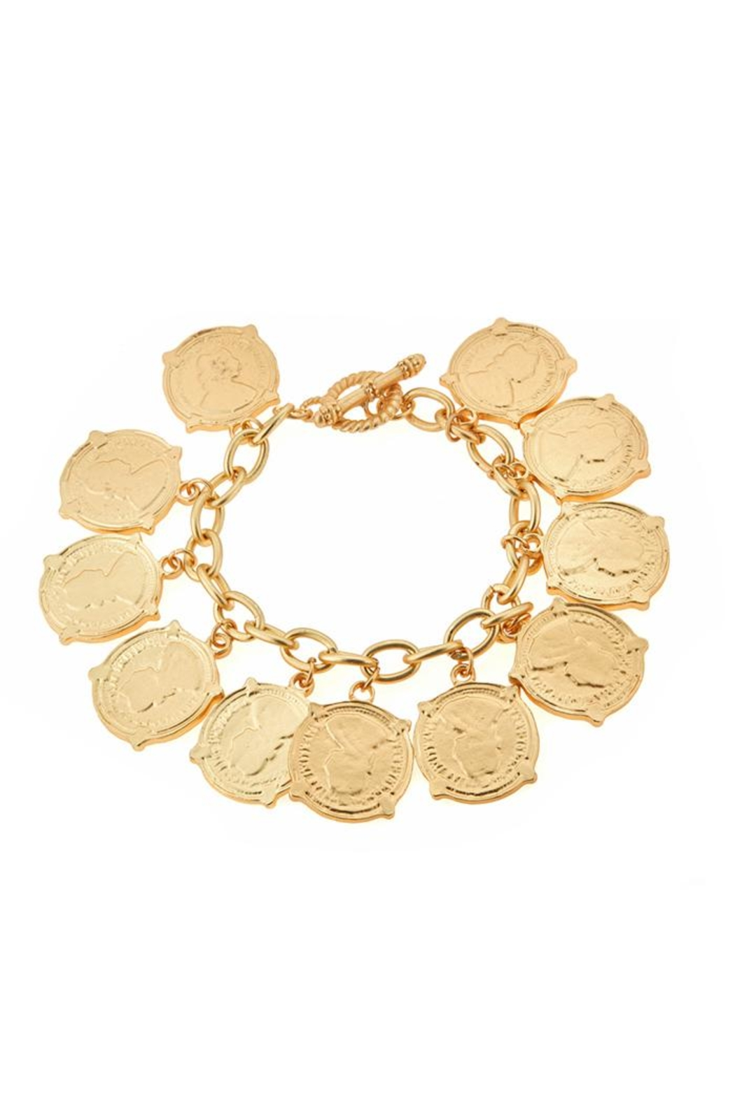Fornash Calypso Coin Bracelet - Front Cropped Image
