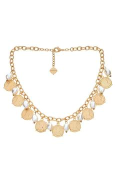Shoptiques Product: Calypso Necklace Coin Pearl