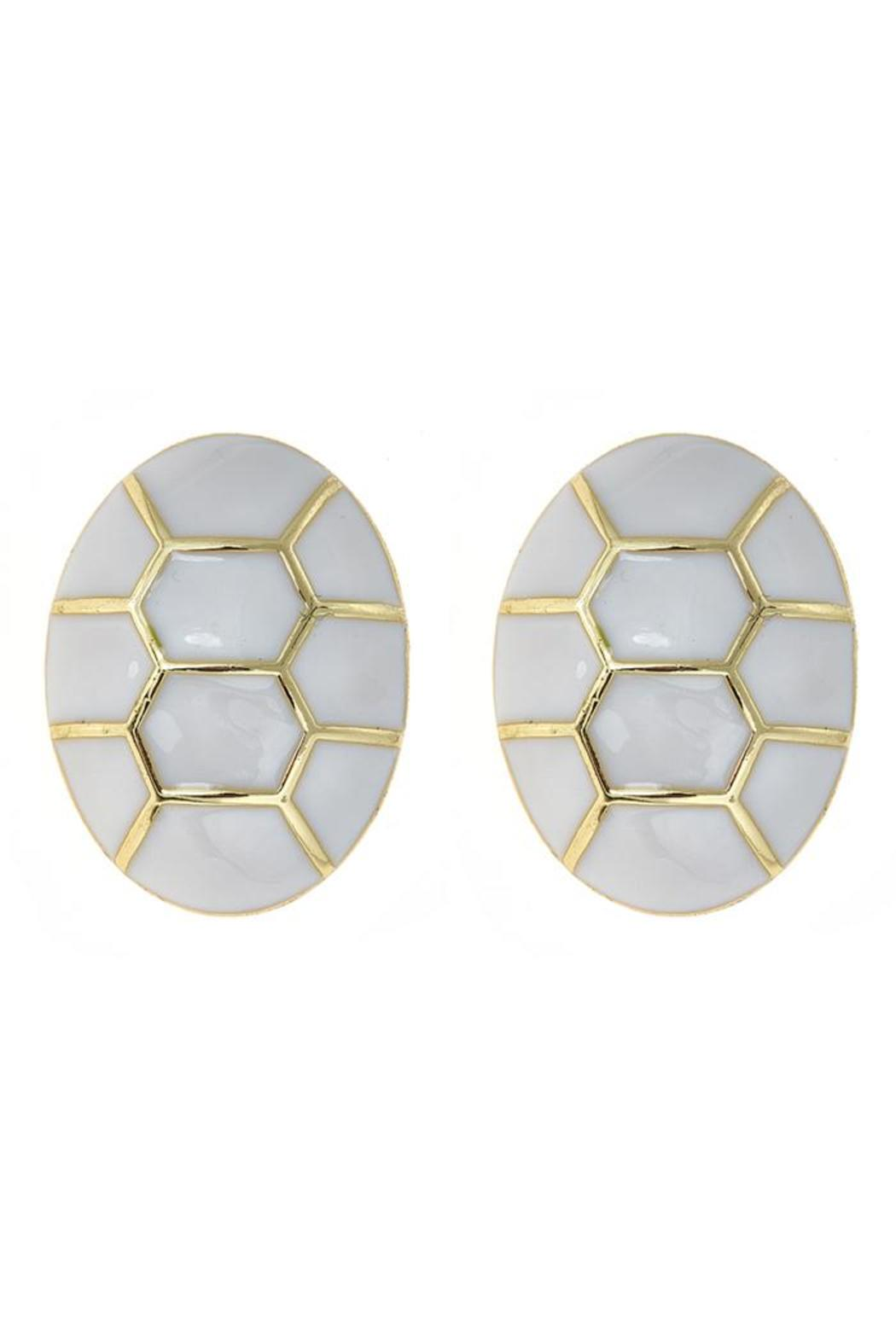 Fornash Chelsea Earrings - Front Cropped Image