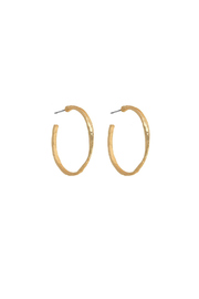 Fornash Chester Hoop Earrings - Product Mini Image