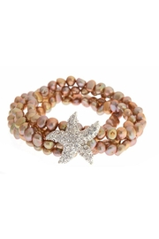 Fornash Freshwaterpearl Starfish Bracelet - Front cropped