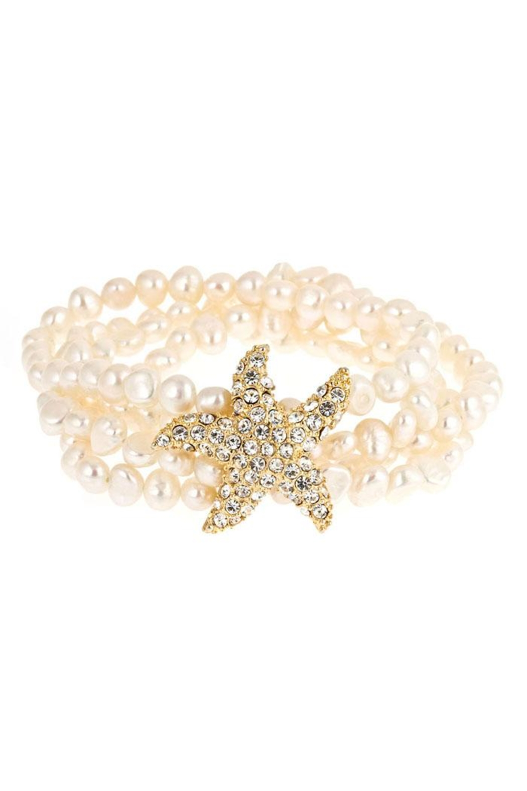 Fornash Freshwaterpearl Starfish Bracelet - Front Cropped Image