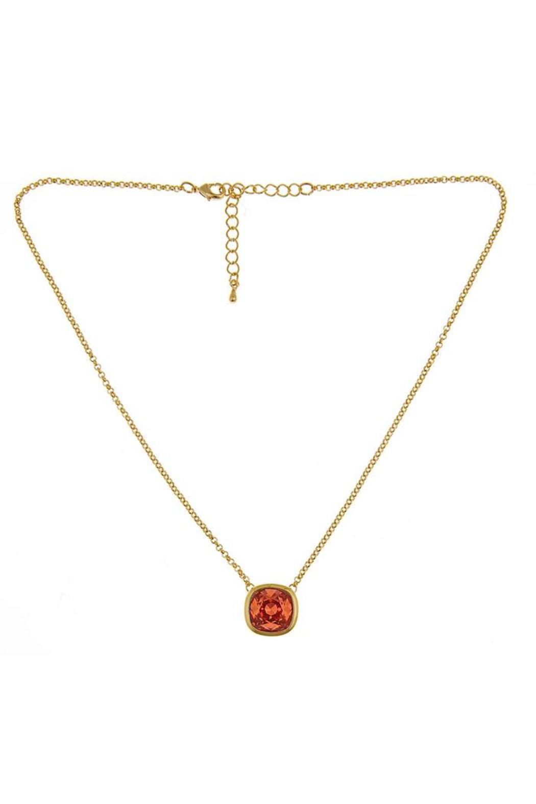 Fornash Short Poppy Necklace - Front Cropped Image