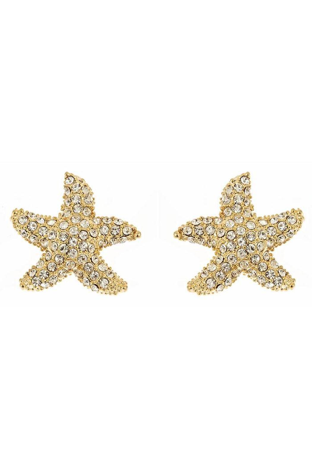 Fornash Starfish Earrings - Front Cropped Image