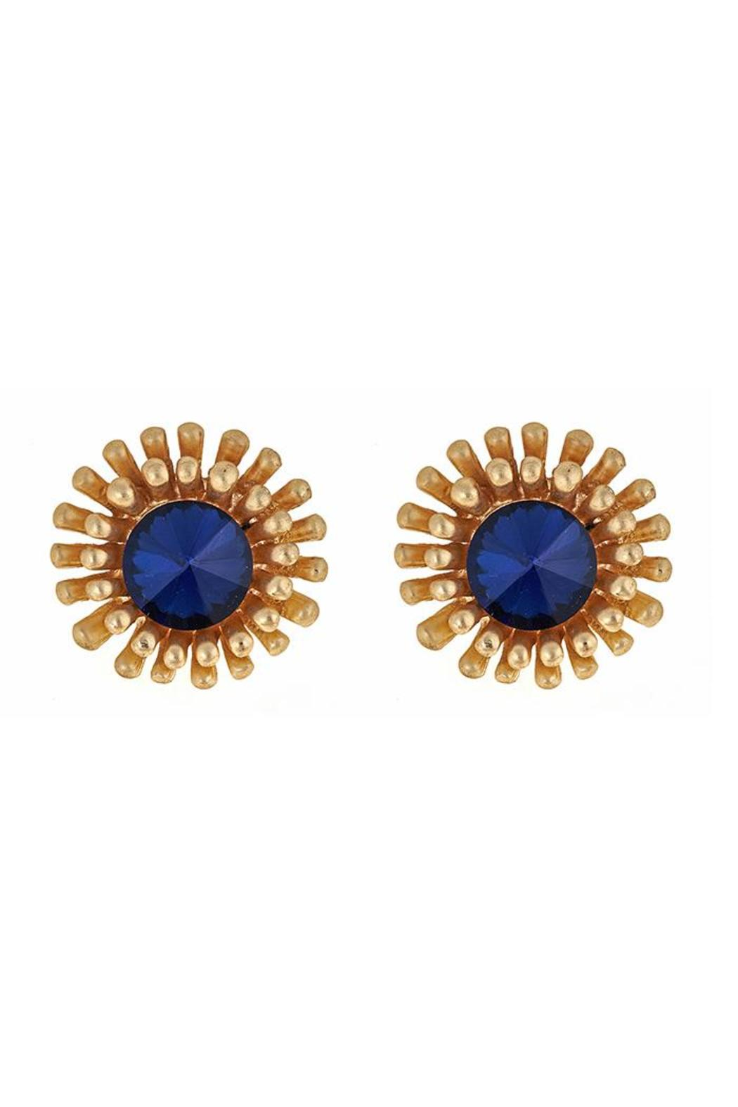 Fornash Sunburst Earrings - Front Cropped Image