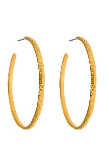 Shoptiques Product: Willow Hoop Earrings - main