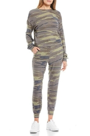 Fornia Camo Jogger Lounge Set - Front cropped