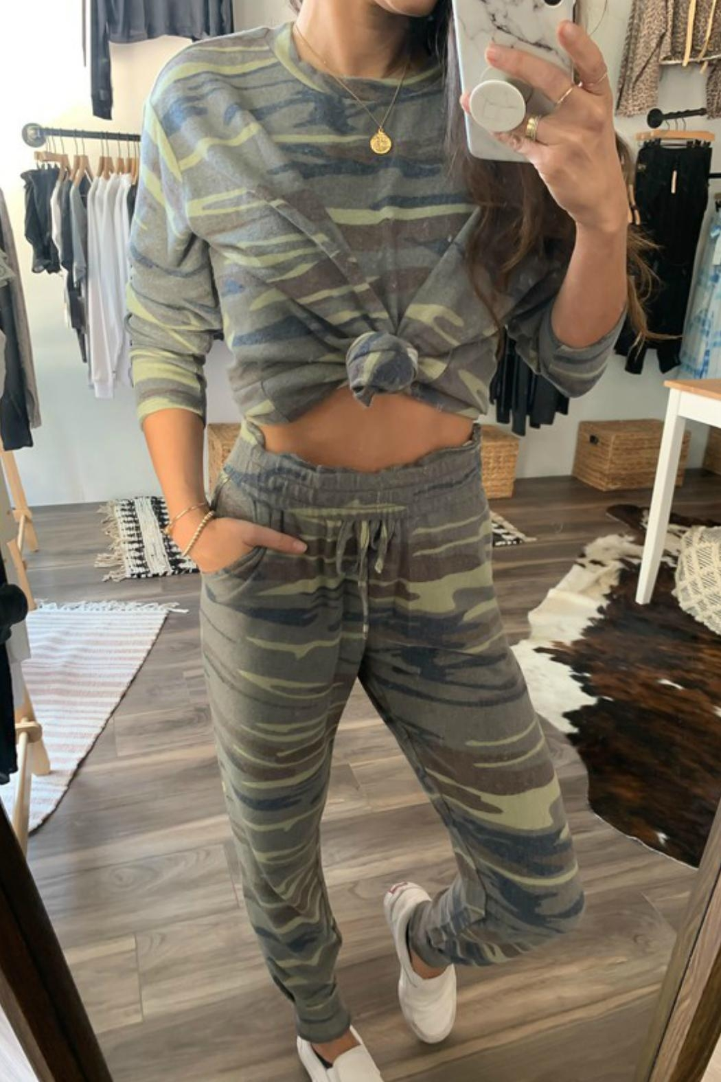 Fornia Camo Jogger Lounge Set - Front Full Image