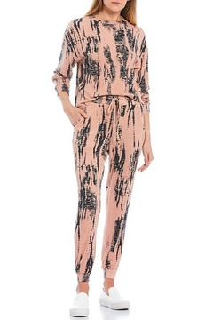 Fornia Peach Tie Dye Jogger Set - Product List Image