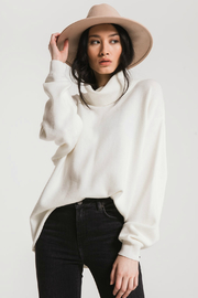 rag poets Fort Green Oversized T-neck Sweater - Product Mini Image