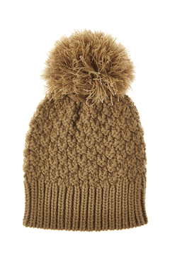 Shoptiques Product: Crochet Pom-Pom Hat