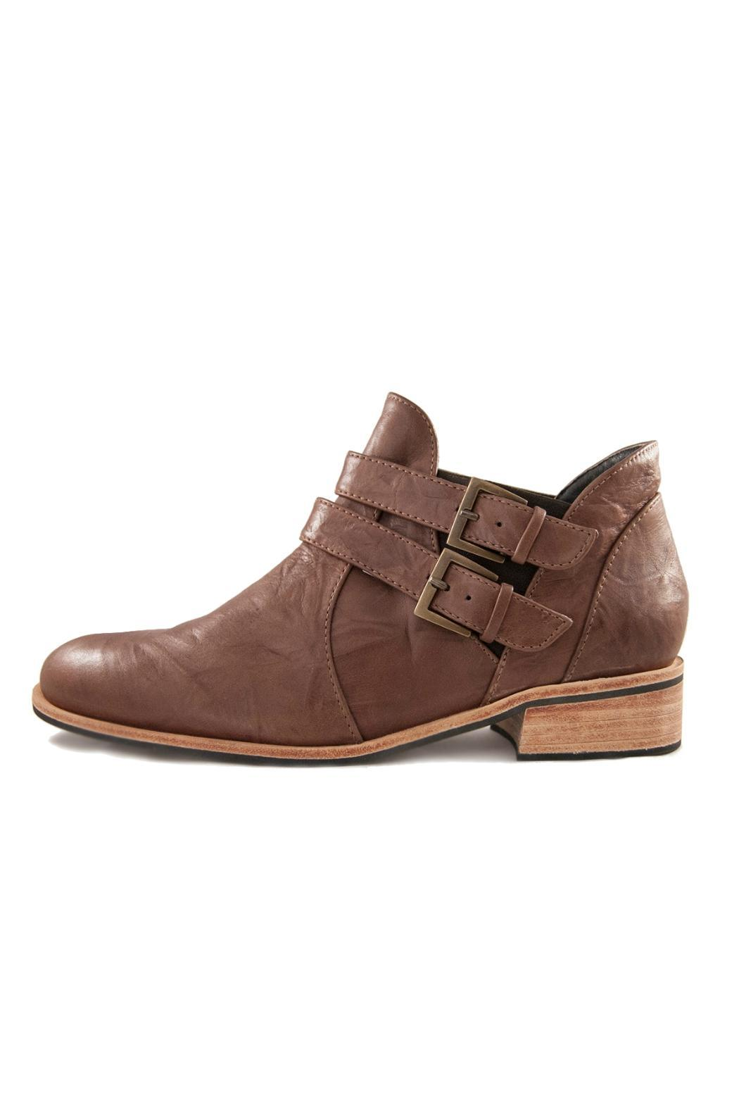 Fortress of Inca Handmade Leather Shootie - Main Image