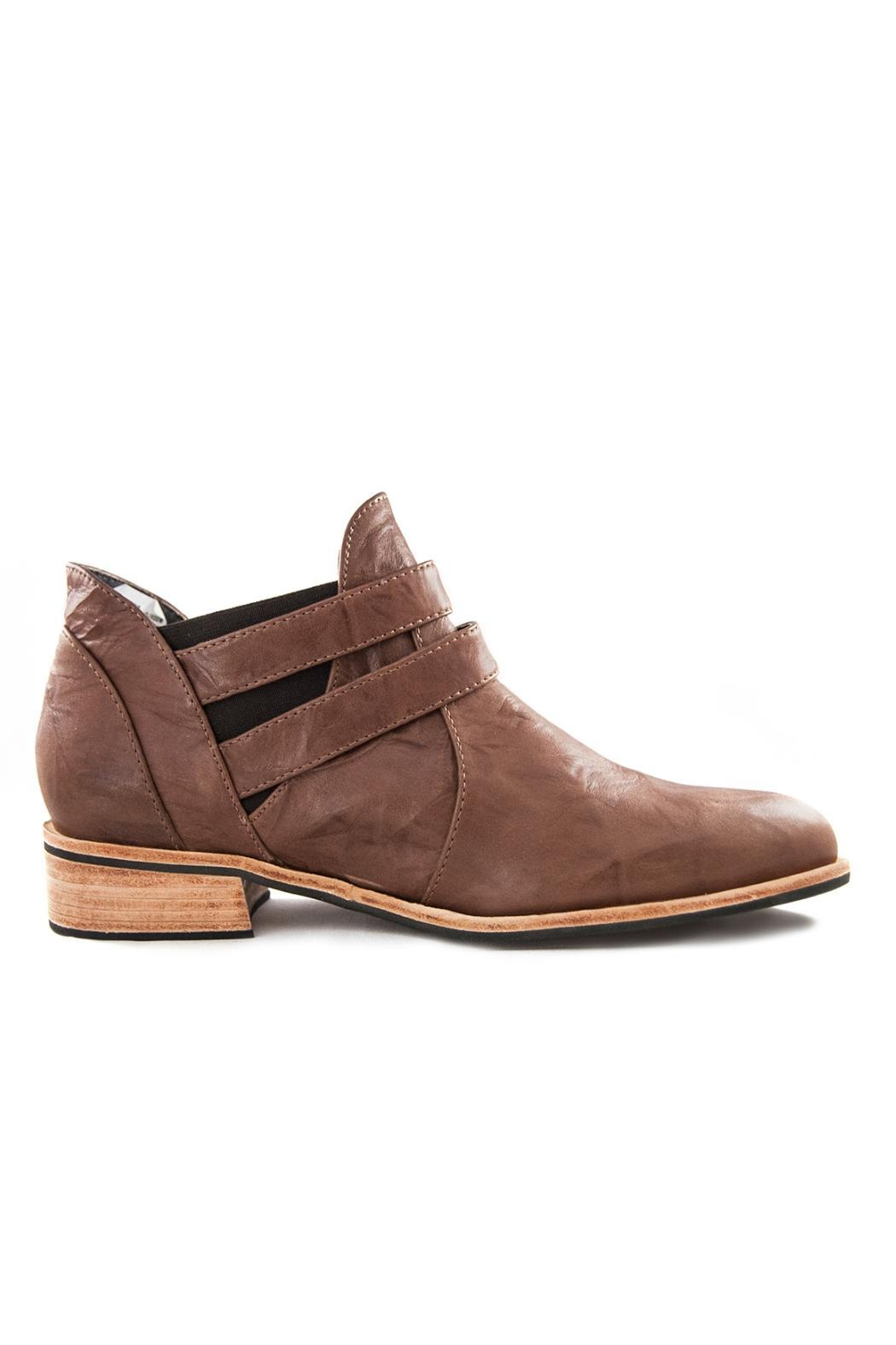 Fortress of Inca Handmade Leather Shootie - Front Full Image