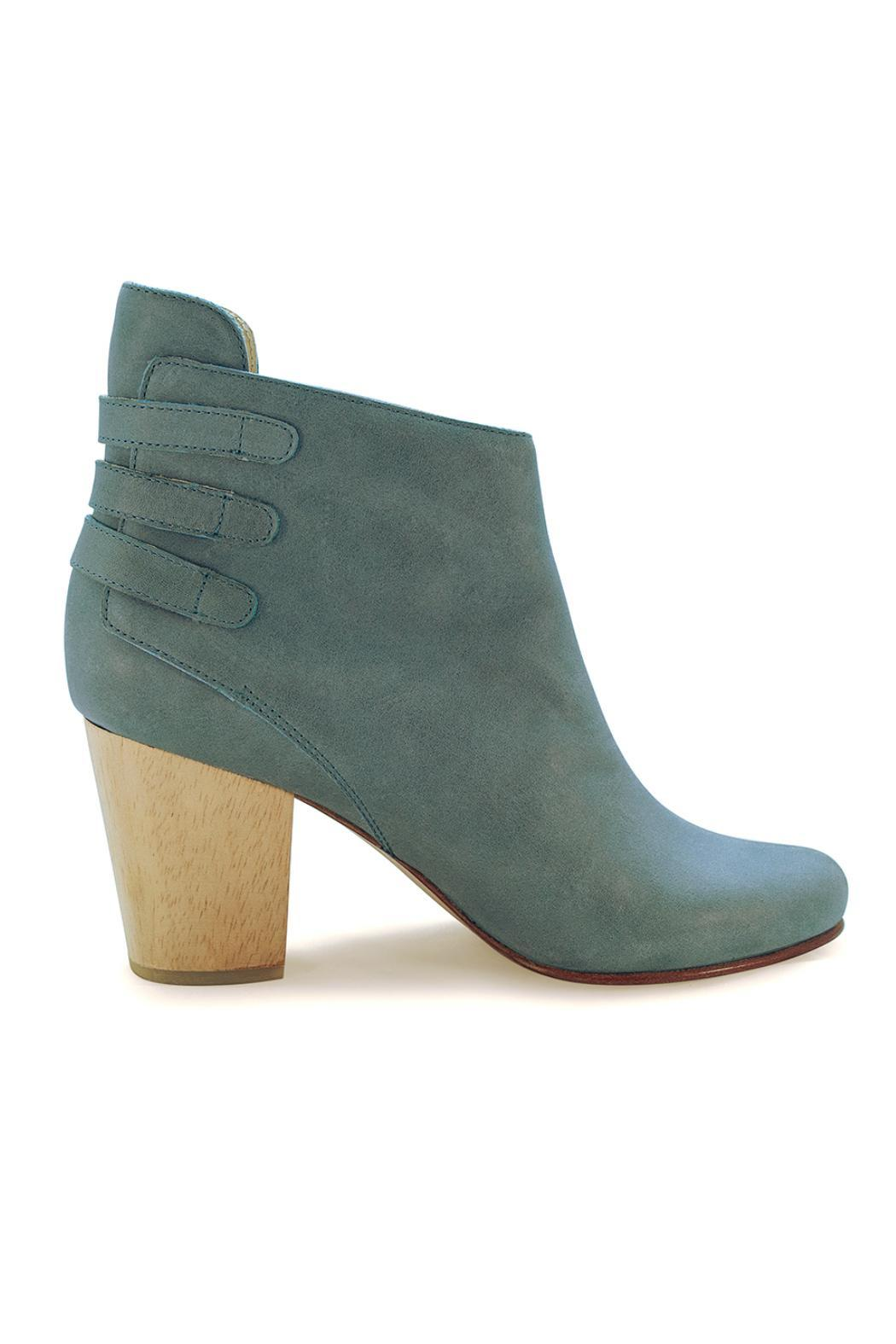 Fortress of Inca Handmade Leather Bootie - Front Full Image