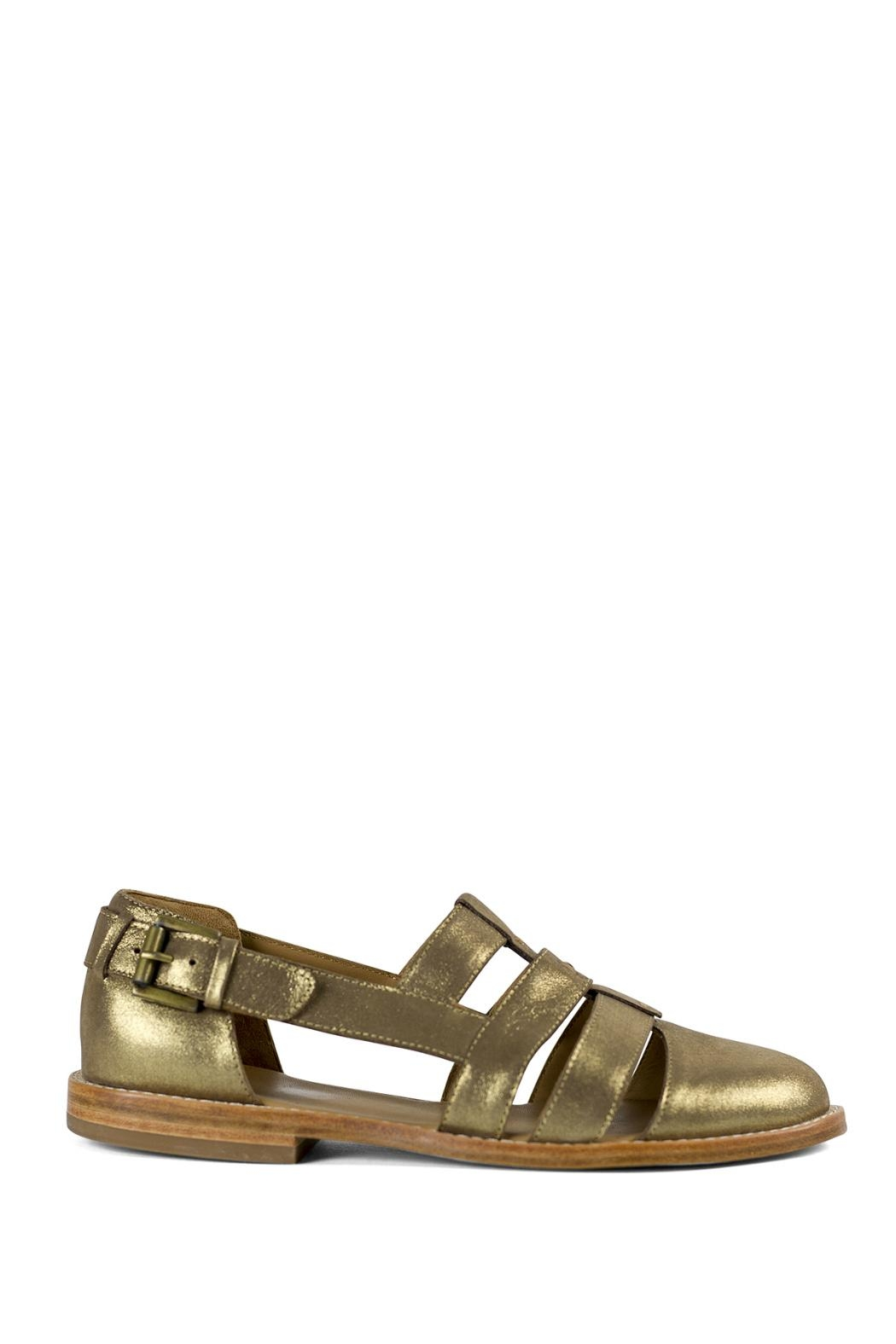 Fortress of Inca Gold Fisherman Sandal - Front Full Image