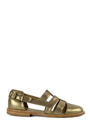 Fortress of Inca Gold Fisherman Sandal - Front full body