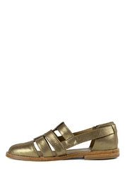 Fortress of Inca Gold Fisherman Sandal - Front cropped