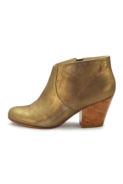 Fortress of Inca Gold Leather Bootie - Alternate List Image