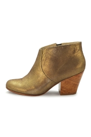 Fortress of Inca Gold Leather Bootie - Product Mini Image